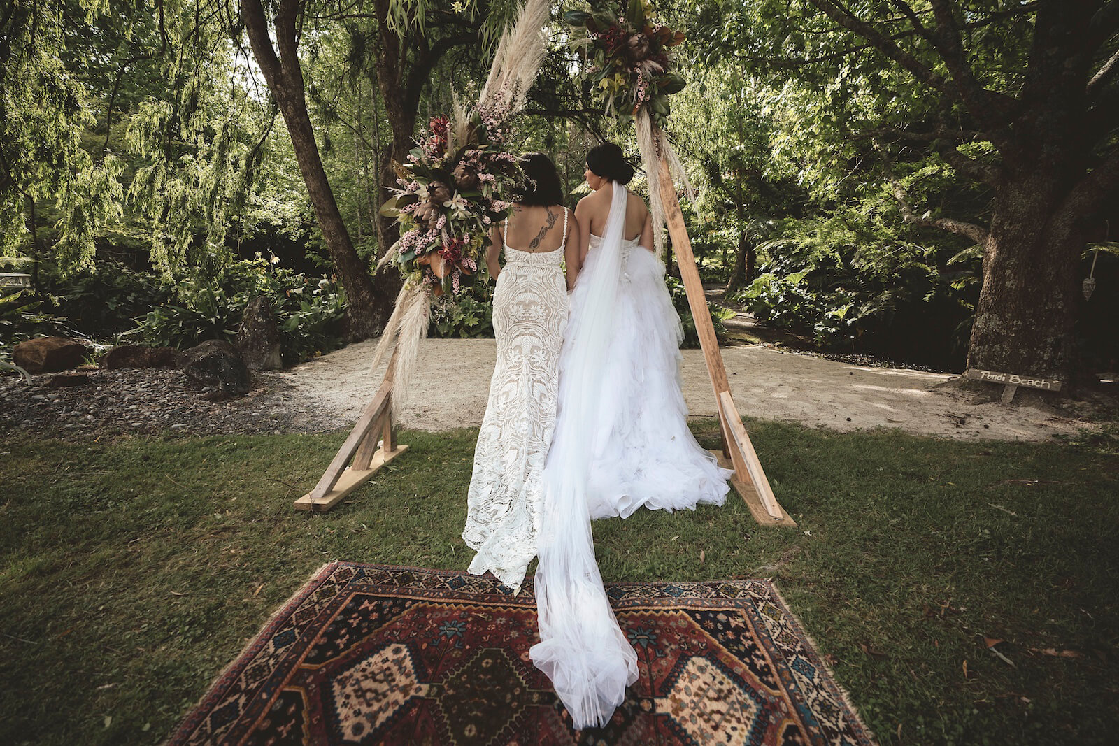 Intimate Wedding Ceremony and Reception