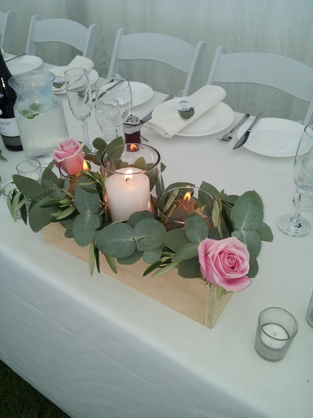 Box _ pillar Vases _ Pillar candles