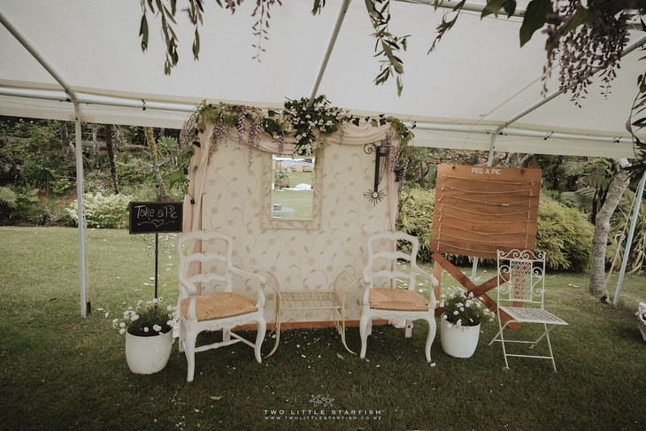 Backdrop_Louise Chairs_Rimu Sign