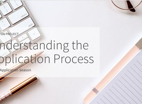 Understanding the Application Process 2020 - Webinar