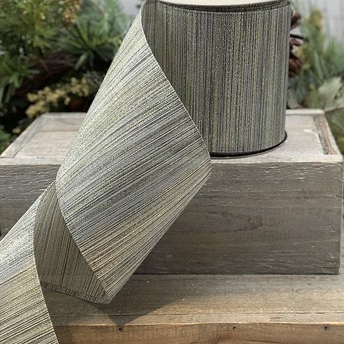Metallic Stripe Ribbon