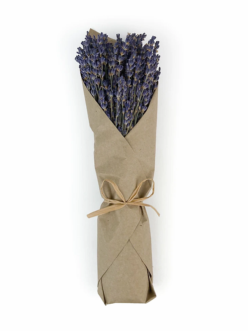 French Lavender Bunch in Kraft Paper