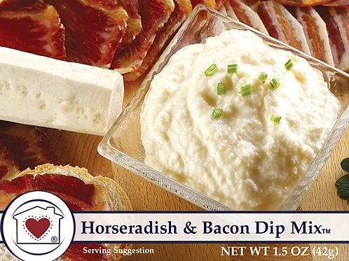 Horseradish and Bacon Dip