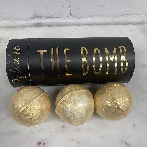 """""""You're the bomb"""" Bath Bomb Trio"""