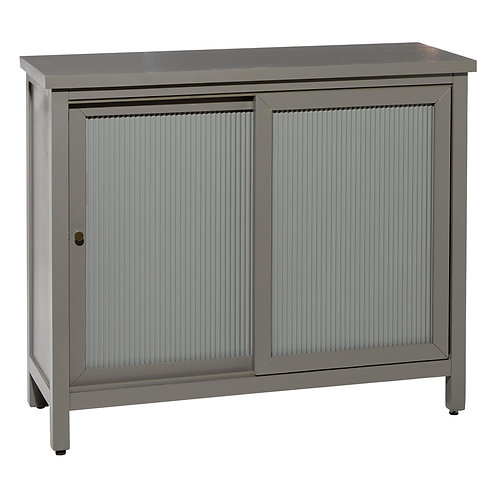 Grey Wooden Cabinet