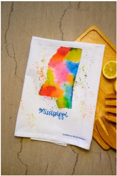 Mississippi Hand Towel