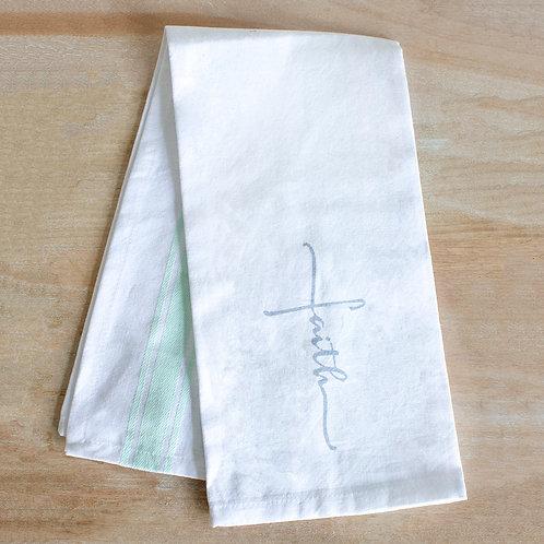 Faith Cross Hand Towel
