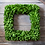 "Thumbnail: 16"" Preserved Boxwood Square Wreath"