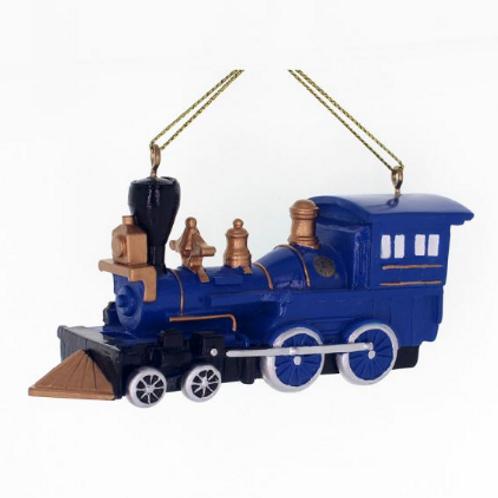 Lionel Train Ornament - Blue
