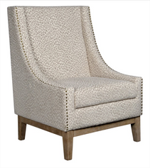 Jasmine Chair - Snow Leopard