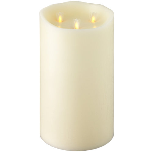 """10 """"X6 """" Moving Flame TriFlame Candle"""