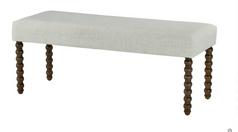 Classic Bench III Cotton Boll