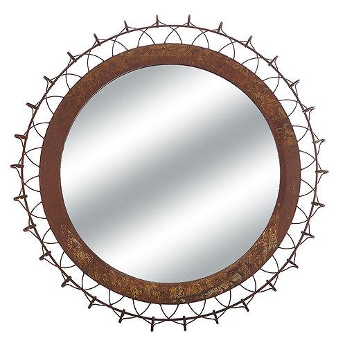 "38"" Distressed Mirror"