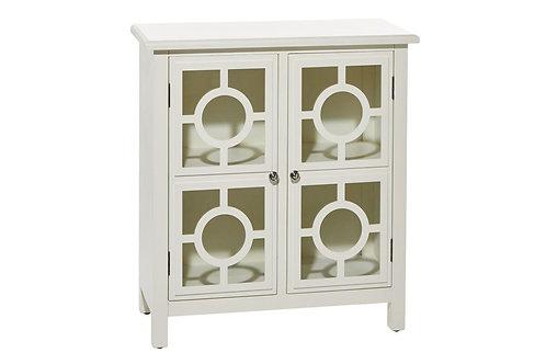 2 Door White Cabinet