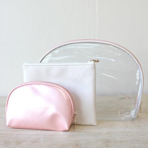 Pink Manhattan Cosmetic Bags