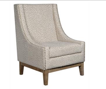 Jasmine Chair in Snow Leopard
