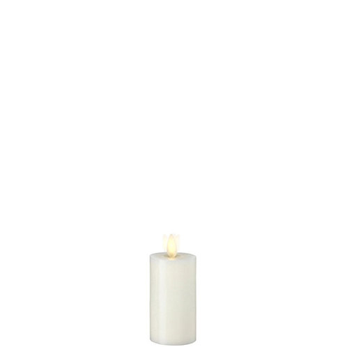 """2 """"X4 """" Moving Flame Ivory Wax Votive Candle"""