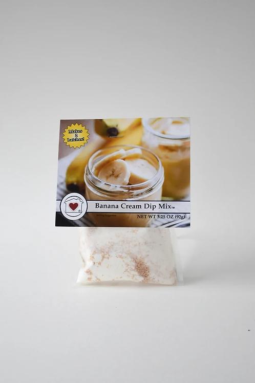 Banana Cream Dip Mix