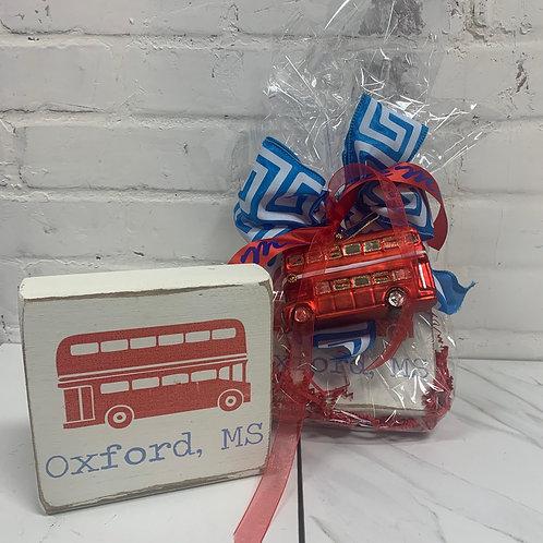 Ole Miss Double Decker Gift Set