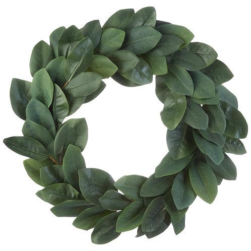 """26"""" Magnolia Leaf Wreath"""
