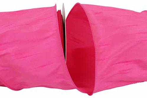 Shocking Pink Dupioni Supreme Silk Ribbon