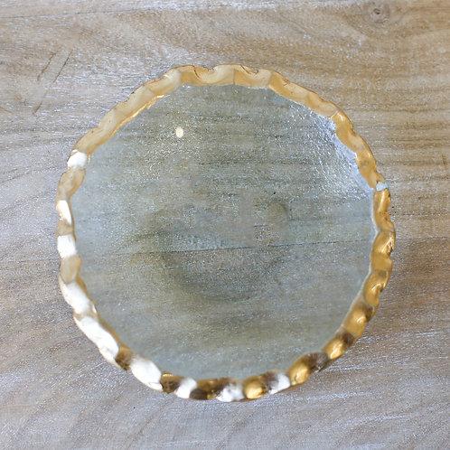 Fairbanks Trinket Tray - Gold