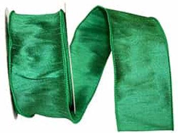 Emerald Dupioni Supreme Silk Ribbon