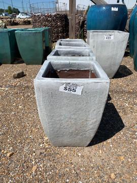 SOLD OUT Cheslea Square Medium Birch White