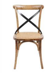 Brody X-Back Side Chair (Medium Brown)