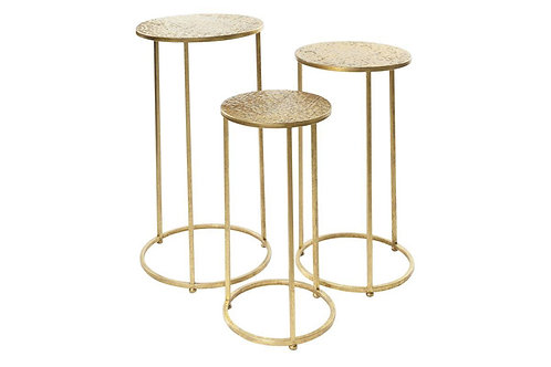 Gold Side Tables - 3 Sizes, sold seperately