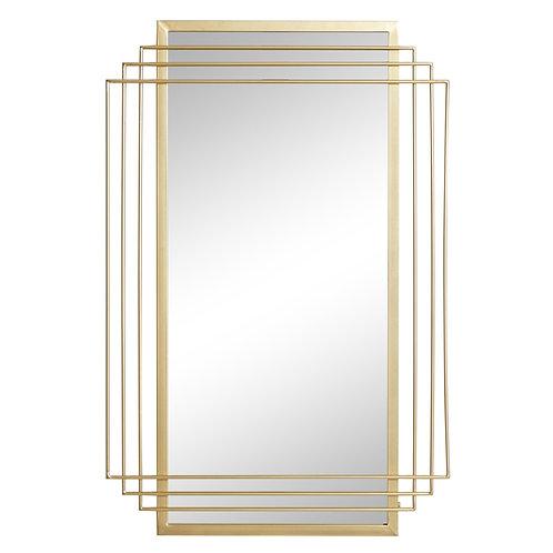 "Gold Wall Mirror - 24"" X 36"""