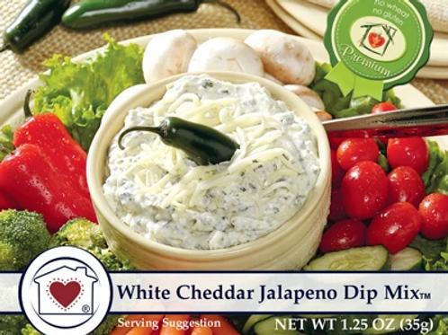 White CheddarJalapeno Dip Mix