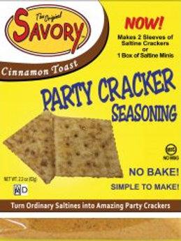 Savory Cracker Mix -Cinnamon Toast