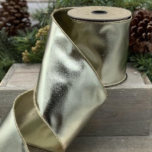 Gold Metallic Foil Ribbon