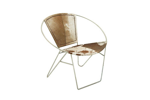 Cowhide Leather Chair