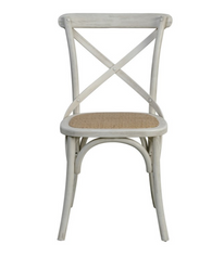 Brody X-Back Side Chair (Cottage White)