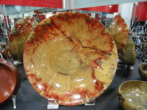 Flame Box Elder Platter