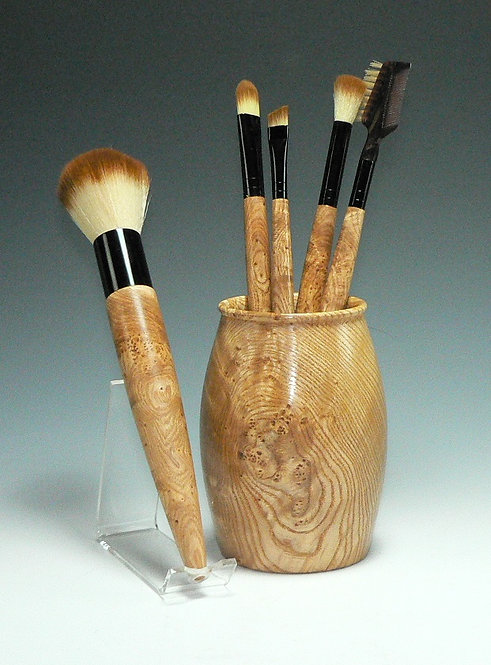 Black Ash Burl Set