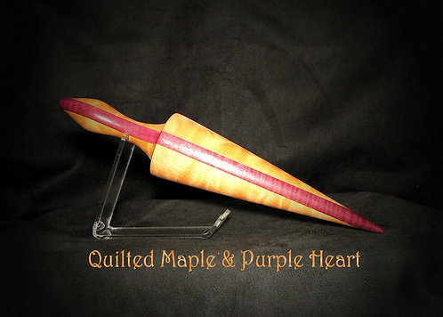 Quilted Maple with Purpleheart