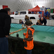 Fishing at the Outdoor Expo