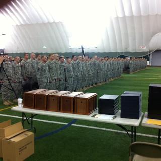 National Guard C Company Ceremony