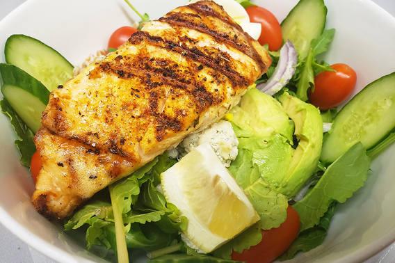 Power Salad With Salmon