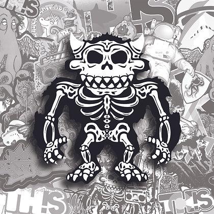 Sasquatch Skeleton