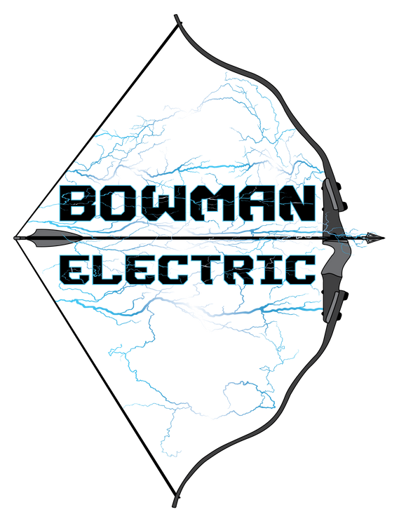 BowmanElectricFullColorBowLogoWHTBckgrdT