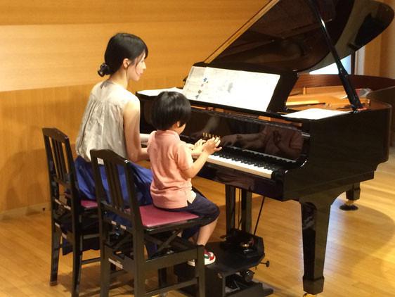 ピアノ発表会リハーサル