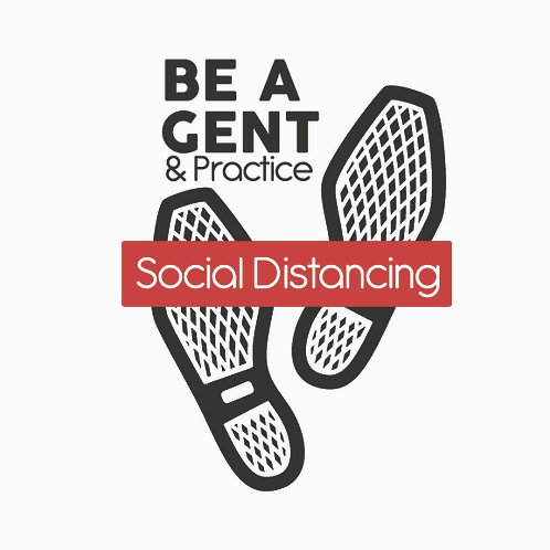 Be A Gent Social Distancing Collection