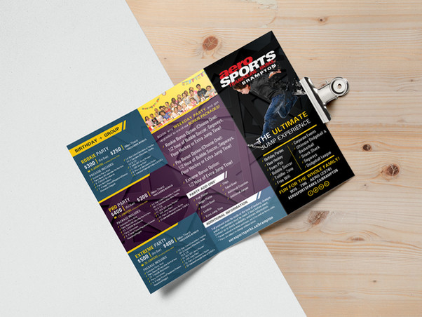 Flyers/Brochures Printing & Design