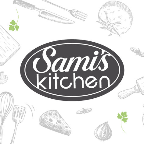 Sami's Kitchen Logo Design