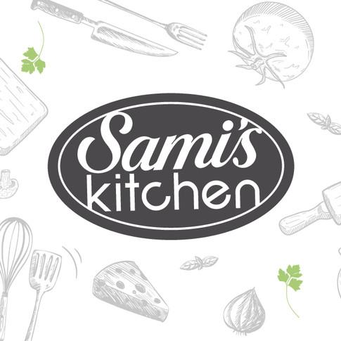 Sami's Kitchen Logo Design
