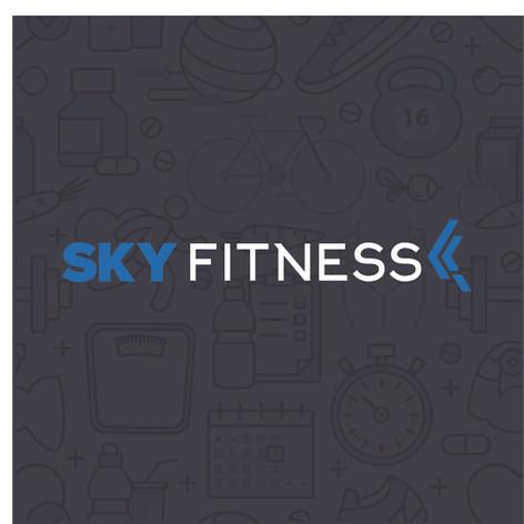 Sky Fitness Branding & Logo Design